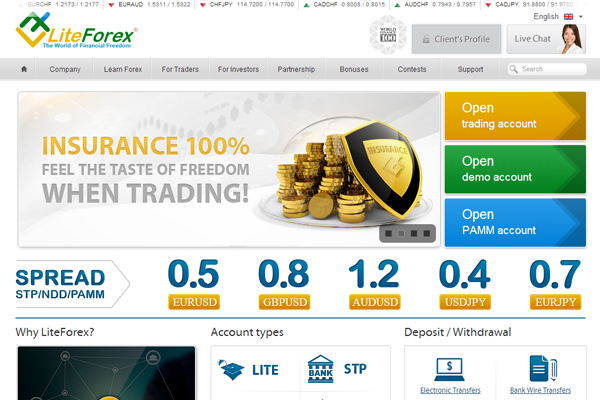 Lite Forex screen shot