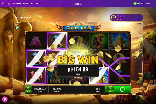 Bao Casino screen shot