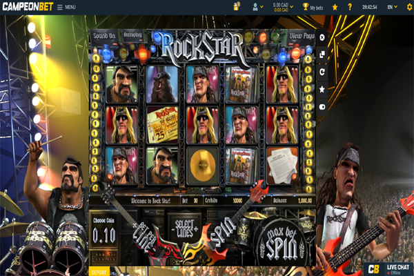 Campeon Casino screen shot
