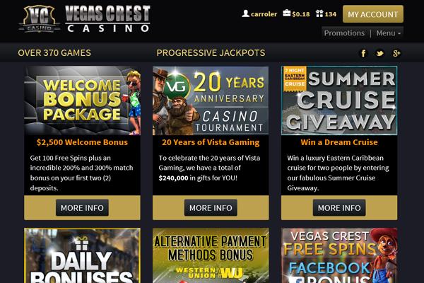 Vegas Crest screen shot