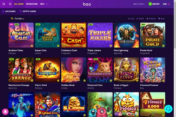 Bao Casino screen shot