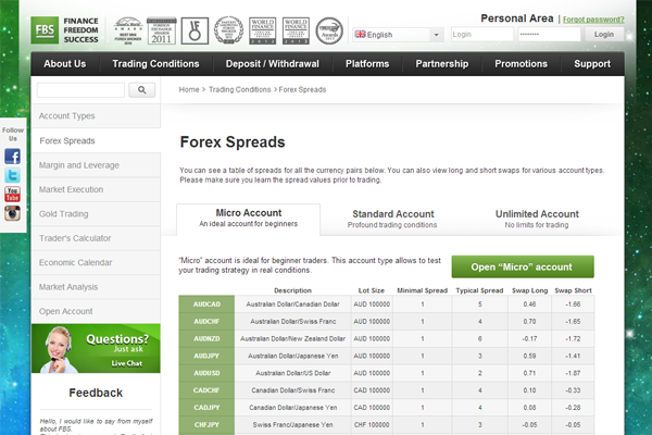 FBS screen shot