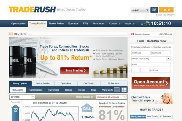Trade Rush screen shot