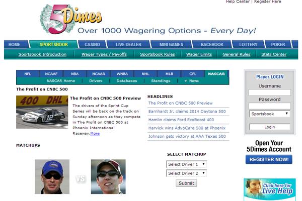 5 Dimes screen shot